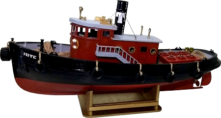 Nauticurso Mighty Mite Steam Powered Harbor Tug 1:64 Scale