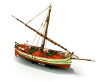 Mamoli MV29 Leudo Model Ship Kit - Original merchant launch - Scale 1/32 - Length 25.7 in - Height 17.4 in