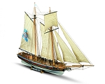 Mamoli MV25 Marseille - French 26 Gun Naval training Ship - Scale 1/64 - Length 31.6 in - Height 22.2 in