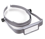 DON-OSC GRAY  OptiSIGHT Magnifying Visor - with 3 Different Magnifying Lenses