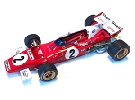 Tameo SLK116 Ferrari 312B2 - 1971 - White Metal Car Kit - Scale 1:43, Made in Italy