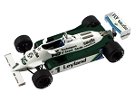 Tameo SLK064 Williams FW 07C Ford - 1981 - White Metal Car Kit - Scale 1:43, Made in Italy