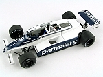 Tameo SLK067 Brabham BT49C Ford Cosworth - 1981 - White Metal Car Kit - Scale 1:43, Made in Italy