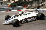 Tameo SLK076 Brabham BT49D Ford Cosworth - 1982 - White Metal Car Kit - Scale 1:43, Made in Italy