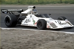 Tameo SLK087 Brabham BT-42 Ford Cosworth - 1973 - White Metal Car Kit - Scale 1:43, Made in Italy