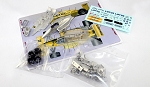 Tameo SLK097 Lotus 99T Honda - 1987 - White Metal Car Kit - Scale 1:43, Made in Italy