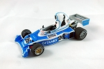 Tameo SLK101 Legier JS5 Matra  - 1976 - White Metal Car Kit - Scale 1:43, Made in Italy