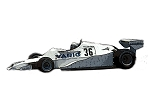 Tameo SLK120 Arrows A1 Ford Cosworth - 1978 - White Metal Car Kit - Scale 1:43, Made in Italy