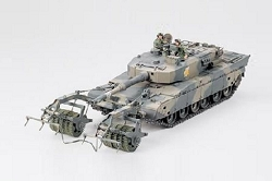 Tamiya Type 90 Tank - Mine Roller 1/35 Scale