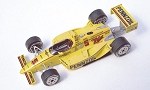 Tameo Kit TIK001 Penske Pc17 Chevy - 1988 Indianapolis 500 - White Metal Car Kit - Scale 1:43, Made in Italy