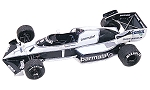 Tameo TMK013 Brabham BT53 1984 - White Metal Car Kit - Scale 1:43, Made in ItalyNew Product - Please enter name here