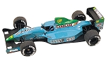 Tameo TMK121 Leyton House Cg-901 Judd - 1990 - White Metal Car Kit - Scale 1:43, Made in Italy