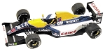 Tameo TMK148 Williams FW-14 Renault - 1991 - White Metal Car Kit - Scale 1:43, Made in Italy