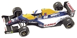 Tameo TMK153 Williams F-14b Renault - 1992 - White Metal Car Kit - Scale 1:43, Made in Italy