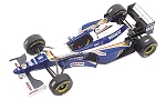 Tameo TMK215 Williams FW-18 Renault - 1996 - White Metal Car Kit - Scale 1:43, Made in Italy
