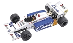Tameo TMK227 Toleman Tg-184 Hart - 1984 - White Metal Car Kit - Scale 1:43, Made in Italy