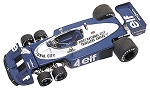 Tameo TMK247 Tyrrell P34/2 Ford Cosworth - 1977 - White Metal Car Kit - Scale 1:43, Made in Italy
