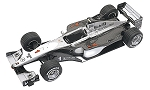 Tameo TMK276 McLarenMP4/14 Mercedes - 1979 - White Metal Car Kit - Scale 1:43, Made in Italy