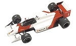 Tameo TMK289 McLaren MP4/3 TAG - 1987 - White Metal Car Kit - Scale 1:43, Made in Italy