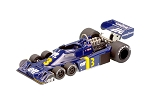 Tameo TMK299 Tyrrell P34 Ford - 1976 - White Metal Car Kit - Scale 1:43, Made in Italy