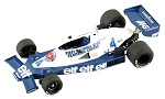 Tameo TMK303 Tyrrell 008 Ford - 1978 - White Metal Car Kit - Scale 1:43, Made in Italy