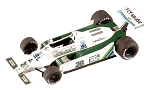 Tameo TMK304 Williams FW-07 Ford - 1979 - White Metal Car Kit - Scale 1:43, Made in Italy