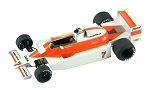 Tameo TMK318 McLaren M28 Ford Cosworth - 1979 - White Metal Car Kit - Scale 1:43, Made in Italy