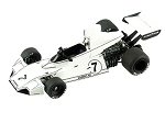 Tameo TMK324 Brabham BT-44 Ford - 1974 - White Metal Car Kit - Scale 1:43, Made in Italy