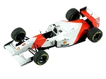 Tameo TMK334 McLaren MP4/8 Ford Cosworth - 1993 - White Metal Car Kit - Scale 1:43, Made in Italy