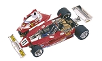 Tameo WCT 077 Ferrari 312 T2 Driven by Niki Lauda - White Metal Car Kit - Scale 1:43