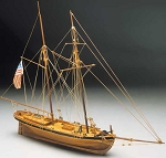 Mantua Model 794 Achilles - American Pilot Boat of 1815 - Plank-on-Bulkhead Kit Scale 1:43