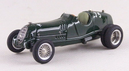 ABC Brianza 1953 Alfa Romeo 8C35 Six Wheels Bo'ness Hillclimb 1/43 Scale