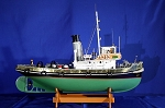 Mantua Model 743 - Anteo Tugboat - Wooden Plank-On-Bulkhead Kit  Scale 1:30  35-1/2