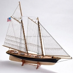 Billing Boats America 1:72 Scale Wooden Hull