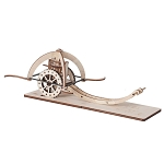 Da Vinci Mowing Wagon (Carro Faiciante) Riciclandia RIC_37 Laser Cut Wooden Model Kit - Made in Italy