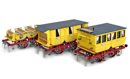 Occre Adler - Set of 3 Coaches 1:24 Scale
