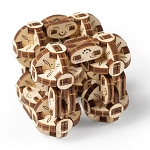 Ugears -Flexi-Cubus - Laser Cut Wood - 144 Parts