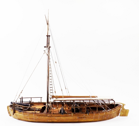 Model Shipways GUNBOAT PHILADELPHIA AMERICAN FLEET 1776 1:24 SCALE