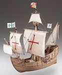 Dusek Santa Maria Wood Model Ship Kit D008 Scale 1:72