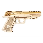 Ugears - Wolf-01 Handgun - Laser Cut Wood - 62 Parts