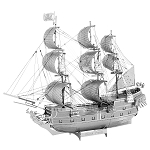 Metal Earth - ICX016 Black Pearl Ship Model Kit