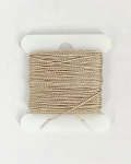 JEWELRY NYLON RIGGING LINE - BEIGE .4mm x 9m