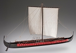 Dusek D005 Viking Longship - Plank-On-Frame Wood Ship Model Kit - 1:35 Scale - 850 mm (34
