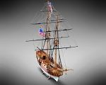 Mamoli MV22 - Blue Shadow - Wood Plank-On-Bulkhead Model Ship Kit - Scale 1/64 - Length 695 MM (28