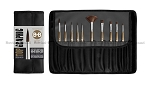 BORCIANI BONAZZI Kit Top Graphic 10 brushes set limited edition