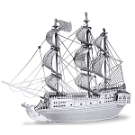 Metal Earth - MMS012 BLACK PEARL PIRATE SHIP