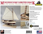 Model Shipways MS1472 Muscongus Bay Lobster Smack