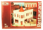 Heljan N Scale Two Brothers Restaurant Plastic Kit