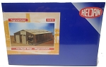 Heljan N Scale Car Repair Shop Plastic Kit