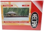 Heljan N Scale Railway Freight House Plastic Kit
